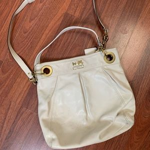 White Coach Crossbody Bag